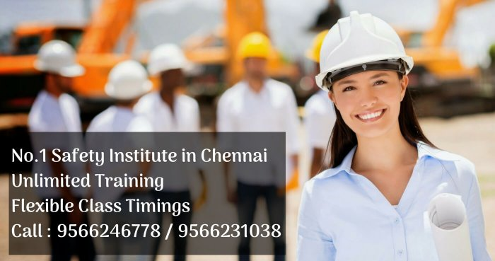 Nebosh Safety Course Training In Chennai