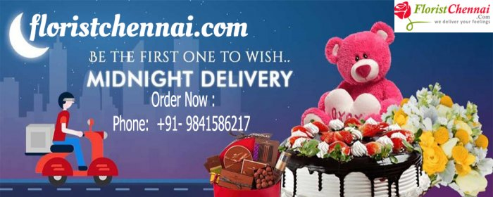 Midnight Flower Delivery Chennai | Same Day Delivery by floristchennai‎