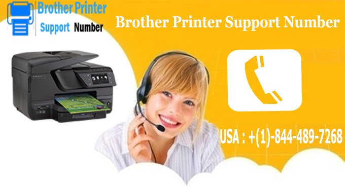 Brother Printer Service Number +(1)-844-489-7268