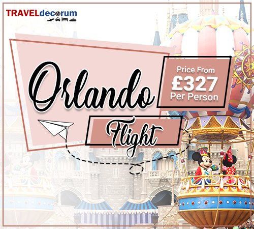 Book London to Orlando Cheap Flights and Flights from London to Orlando
