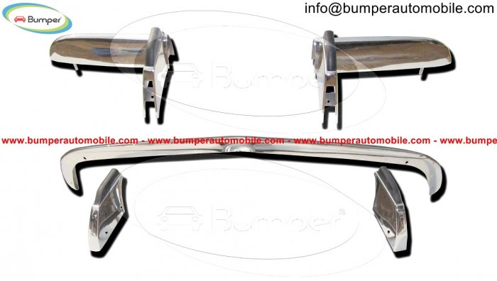Opel GT bumper (1968–1973) by stainless steel