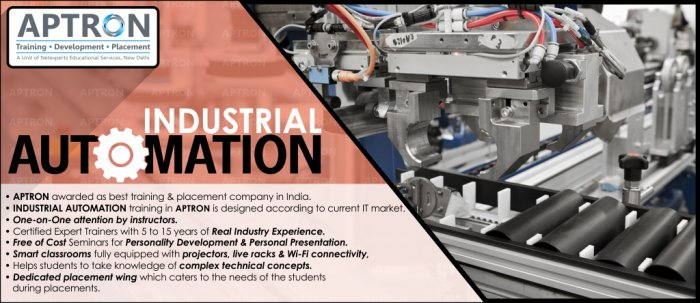 Industrial Automation Training in Delhi