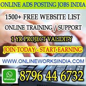 Online home based jobs
