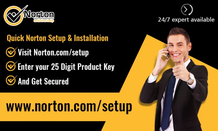 Norton.com/Setup – Enter Norton Key – Norton/Setup
