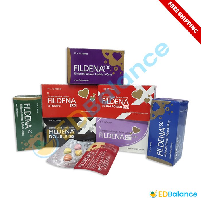 Buy Fildena 25, 50, 100, 150, XXX & double 200mg online at low Price USA