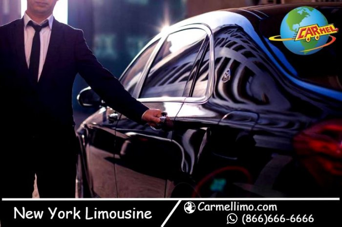 Book first-class New York Limousines - Carmellimo