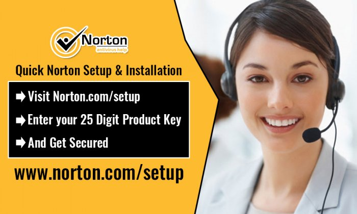 Install Norton Setup Antivirus on a Smartphone