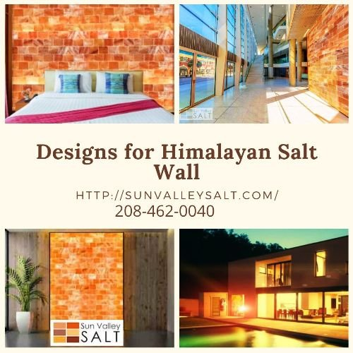 Designs for Himalayan Salt Wall | Sun Valley Salt, Idaho