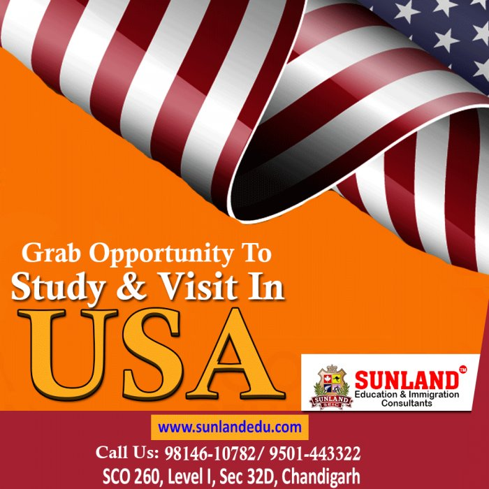 Study in United States of America | Student Visa for USA | Sunlandedu
