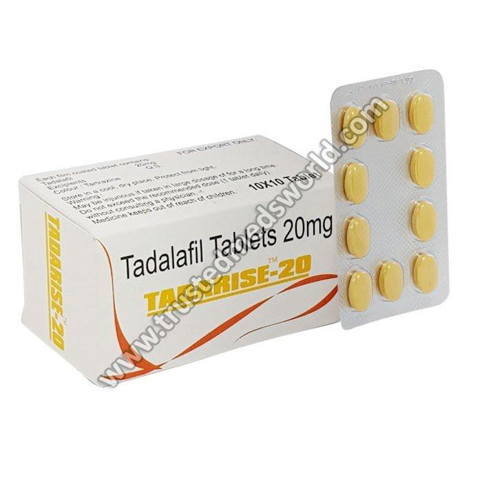 Buy Tadarise 20mg online with free shipping charge