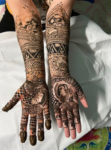 Mehndi Artists In Bangalore