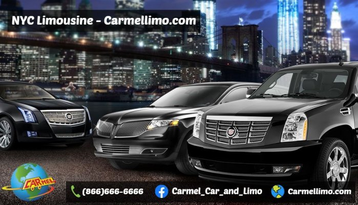 Luxurious New York Airport Limousine at Best Price Carmellimo