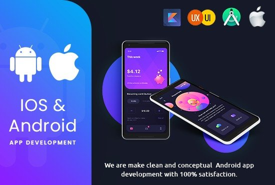 I will Do Mobile ios and Android App Development as Mobile App Developer