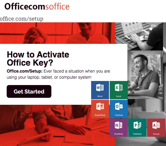 office.com/setup - office activation
