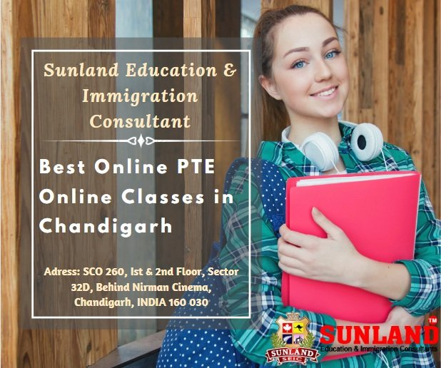 Best Online PTE Online Classes in Chandigarh