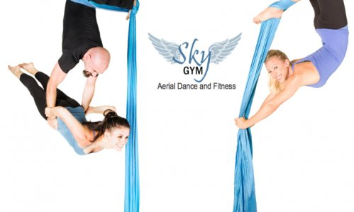 Sky Gym Studio for aerial acts, aerial fitness, aerial, silks, aerial hammock, aerial yoga