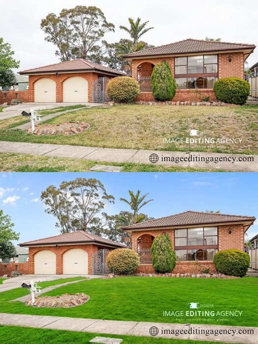 Best Sky Replacement Services - Real Estate HDR Blending services