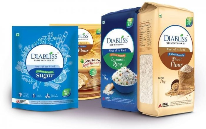 Diabetic food Products Online - Low GI Food - diabliss.in