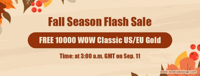 Free world of warcraft classic gold as Fall Season Flash Sale for WOW Shadowlands Mounts