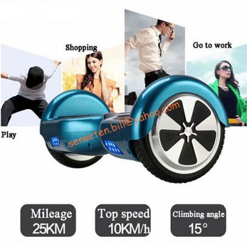 2015 newest personal transporter electric scooter two Wheel self balance Scooters With 680W High Power Samsung Battery Lithium-ion Battery