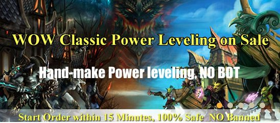 Buy WOW Classic Power leveling from mmorpgpowerlevel.com