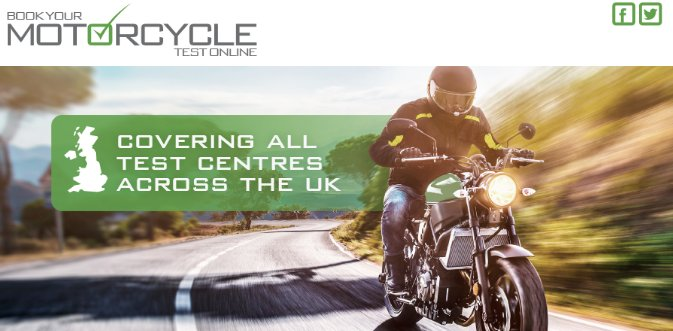 Book your Motorcycle Theory Test Now- UK