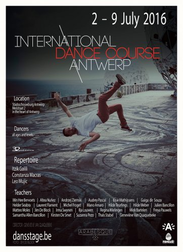 INTERNATIONAL DANCE COURSE ANTWERP 2016 BELGIUM