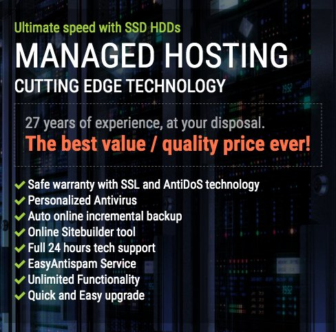 Fast & Reliable Managed Web Hosting Services at Esay.gr