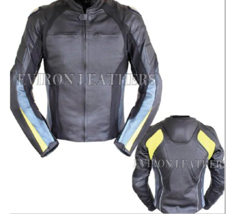 Buy Premium Quality Leather Bike Jacket | Eviron Sports