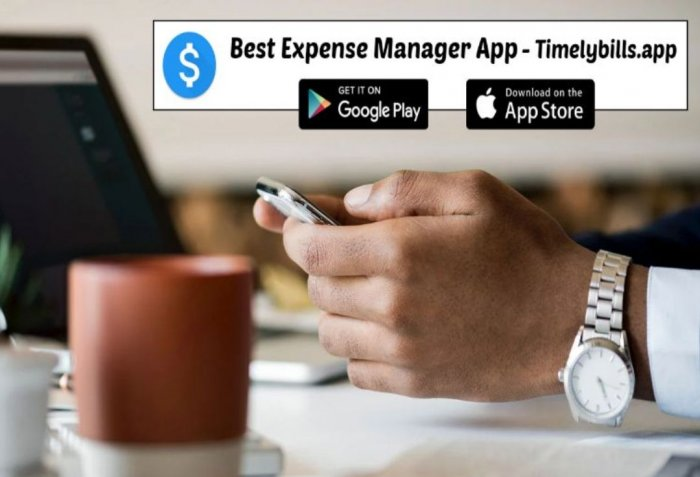 Best Money Manager App and Free Money Manager App Timelybills