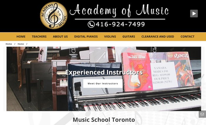 Academy of Music Services
