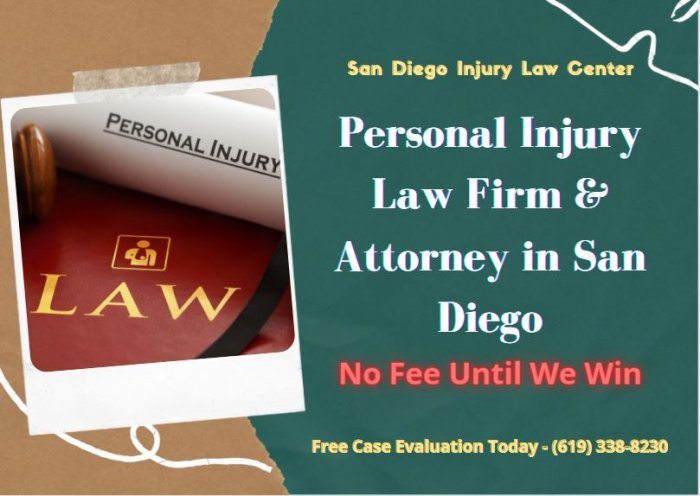 Personal injury law San Diego – SD Injury Law