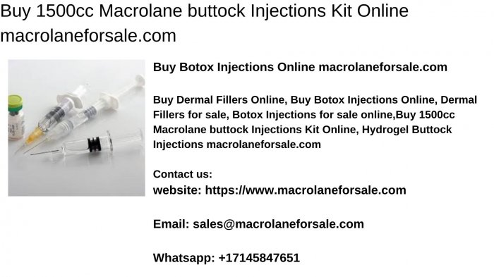 Buy 1500cc Macrolane buttock Injections Kit Online macrolaneforsale.com
