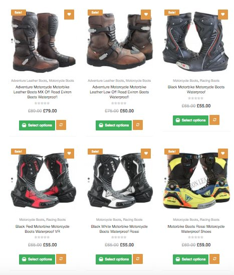 Adventure Motorcycle Boots | Lightweight Boots