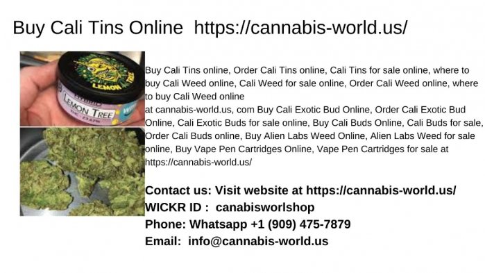 Cali Tins For Sale Online | Buy Cali Tins Online https://cannabis-world.us/