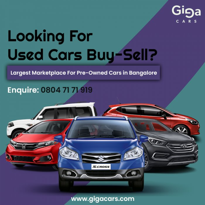 Buy Certified Second Hand Cars In Bangalore | gigacars.com