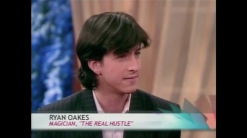 Ryan Oakes sleight-of-hand artist, magician, and mentalist