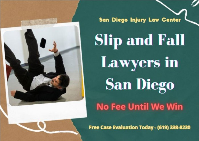 Slip and fall lawyer San Diego – SD Injury Law