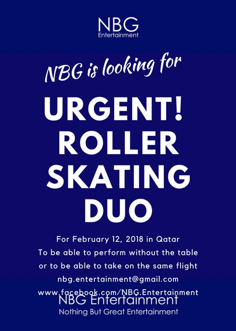 Super URGENT! Roller Skating Duo!