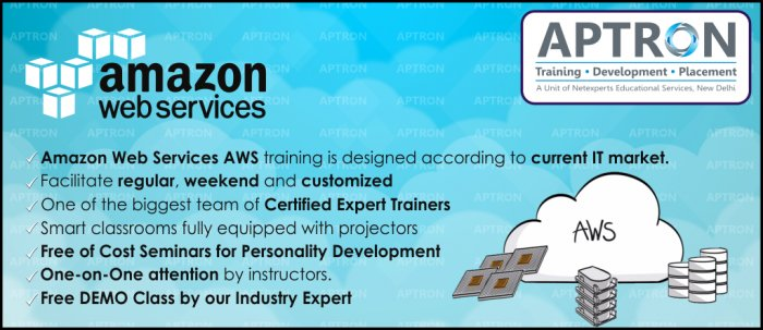 Amazon web services Training in Delhi