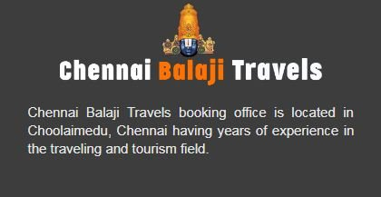 Chennai Balaji Travels