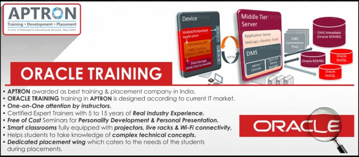 Oracle Training course in Delhi