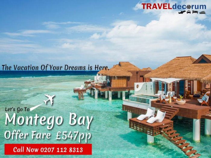 Manchester to Montego Bay Direct Flights 2019