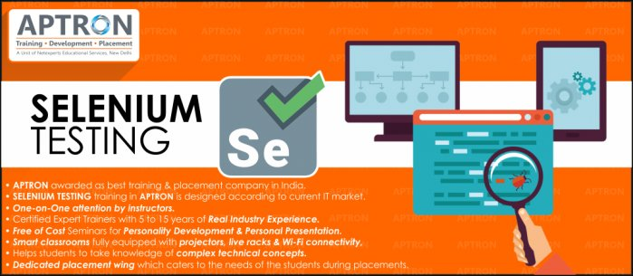 Selenium Training Institute in Gurgaon