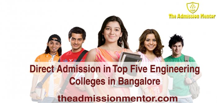 Direct Admission in Top Five Engineering Colleges in Bangalore