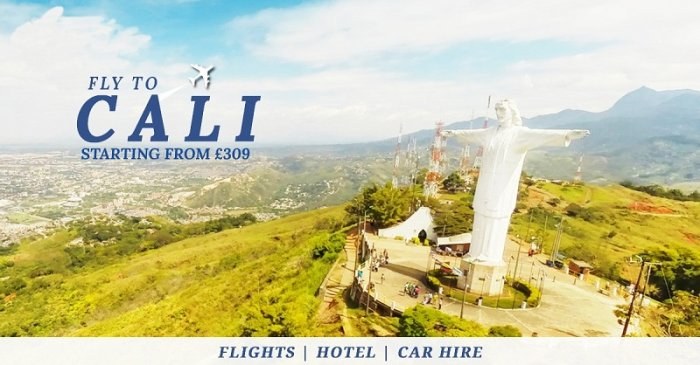Looking for direct flights to Cali Colombia