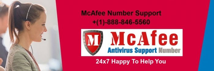 McAfee Antivirus Support Phone Number +(1)-888-846-5560