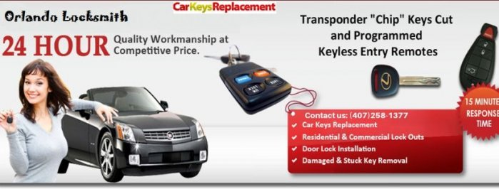 Car key Replacement | Locksmith Orlando | Emergency Services in Florida