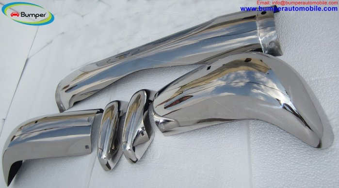 Volvo Amazon Kombi bumper (1962-1969) by stainless steel
