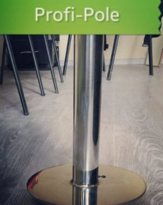 Buy Spin and Static Pole at one `Dynamic Profi` for professional Pole Dance